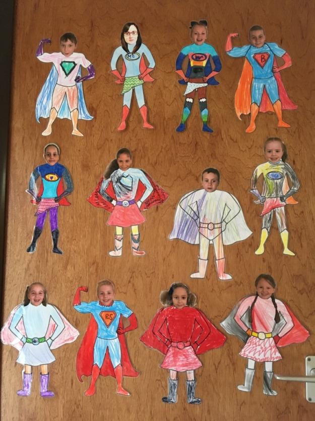 Class 1 Superhero Door