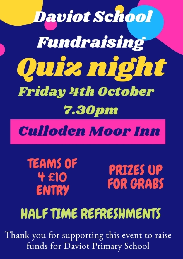 daviot quiz night