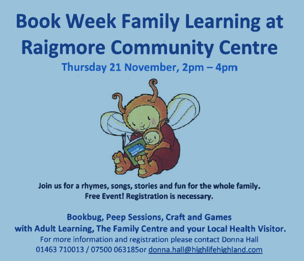 book week - Raigmore